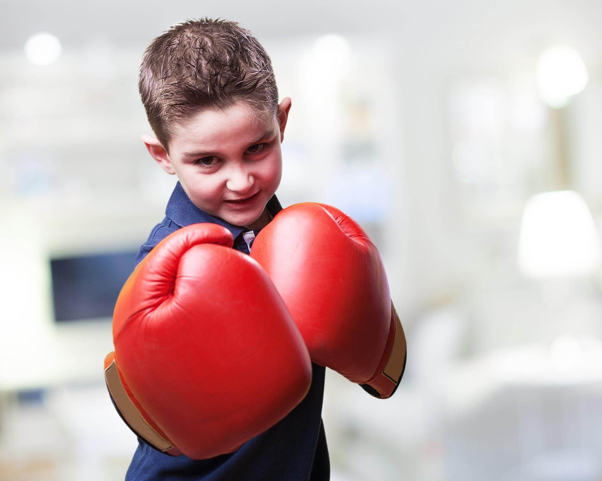 С какого возраста отдать ребенка на бокс?