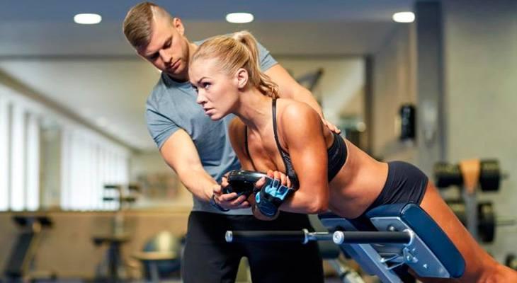 Индивидуальные тренировки в тренажерном зале