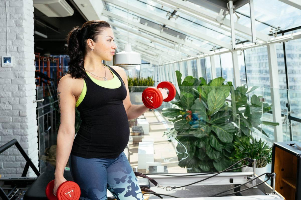 Беременные и спорт