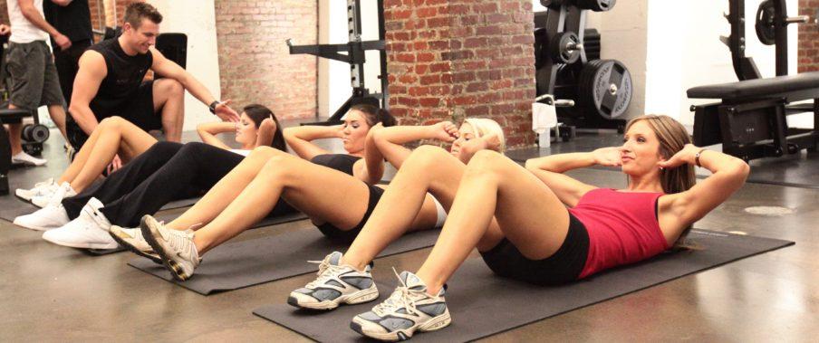 Групповые тренировки для девушек